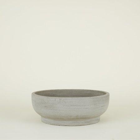 Steven Alan Footed Bowl Planter - Fiber Cement