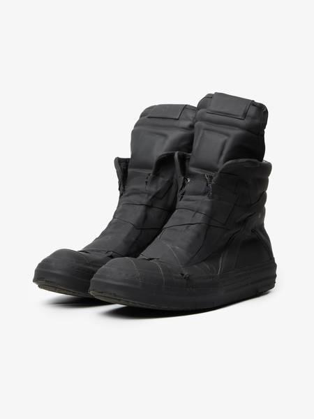 PRE-LOVED Rick Owens Drkshdw Geobasket High Boots - black