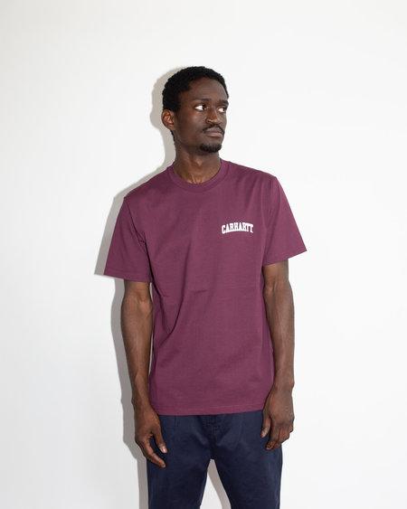CARHARTT WIP S/S University Script T-Shirt - Shiraz
