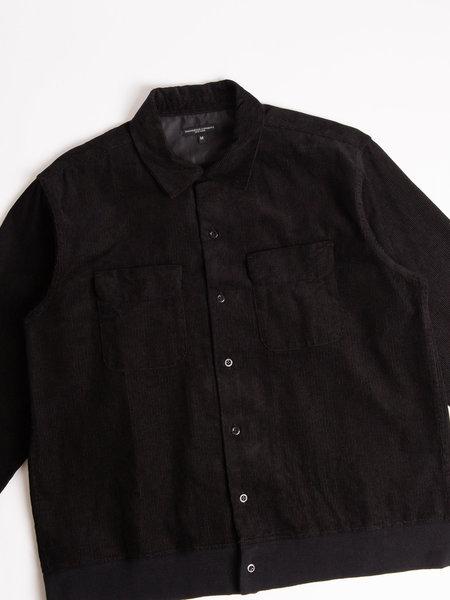 Engineered Garments Classic Shirt - Black 14W Corduroy