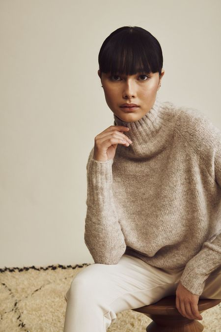 John & Jenn Preston Sweater - Au Natural