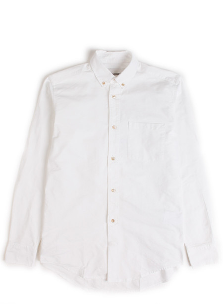 Our Legacy 1940's Shirt Heavy White Oxford