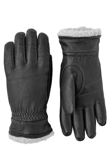 Hestra Deerskin Primaloft Gloves - Black