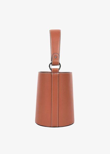 Hyer Goods Mini bucket bag - cognac