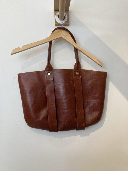 LOOP - Clare Vivier Leather Bag (Kerri McS.)-Brown