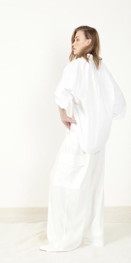 Schai Crescent Shirt - White