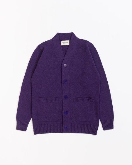 Country of Origin Pocket Cardi - Purple