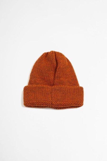 Universal Works Wool Short Watch Cap - British Orange