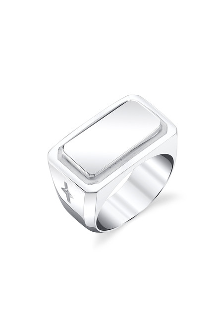 Gabriela Artigas Men's Plate Signet Ring