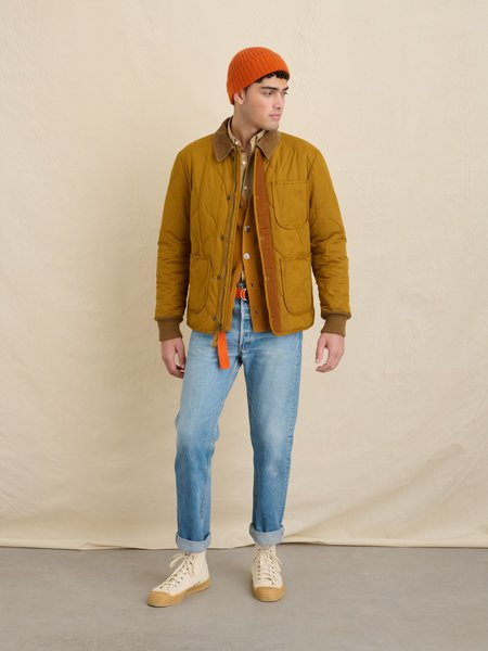 Alex Mill Quilted Philip Jacket - YELLOW