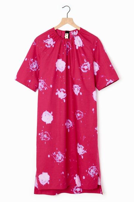 Marni Dress - Faded Roses
