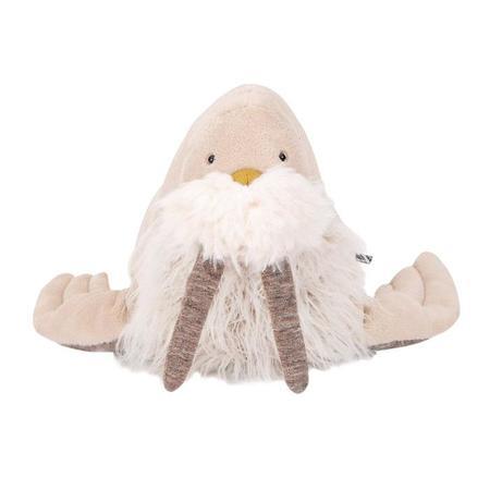 Kids Moulin Roty Small Tout Autour Du Monde Walrus Soft Toy - Beige