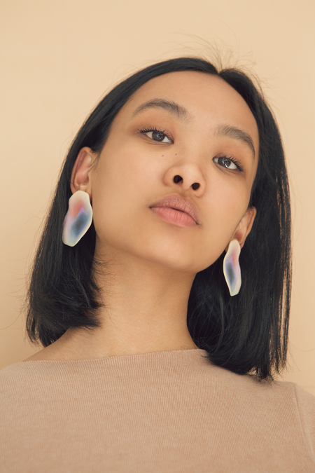 Julie Thevenot Puddle Earrings Multicolor
