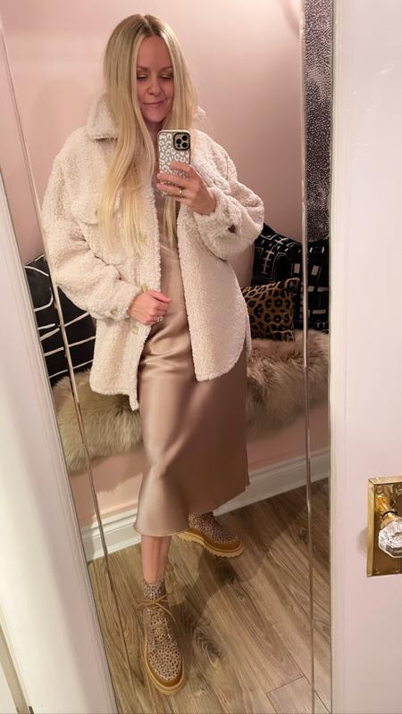 A.L.C. Cambrie Faux Fur Jacket - white