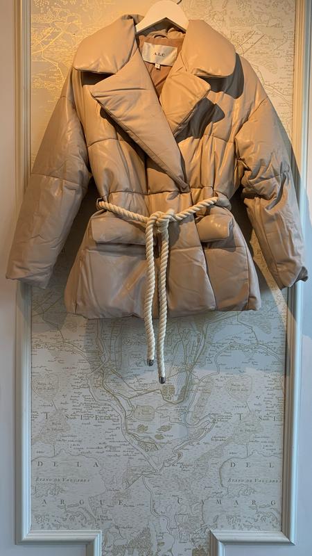 A.L.C. Liam Vegan Leather Coat