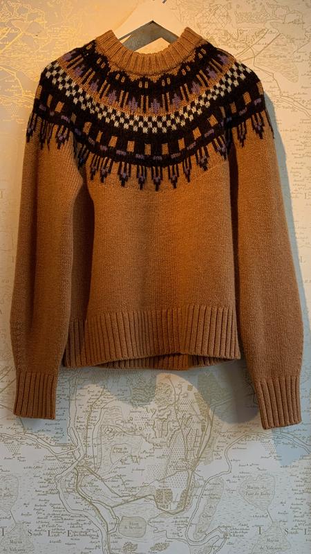 A.L.C. Oakley Fair Isle Knit Sweater
