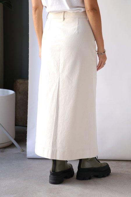 Ganni Midi Skirt - Vanilla Ice
