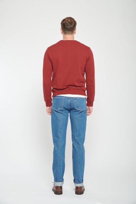 A.P.C. Item Sweatshirt - Dark Red Gab