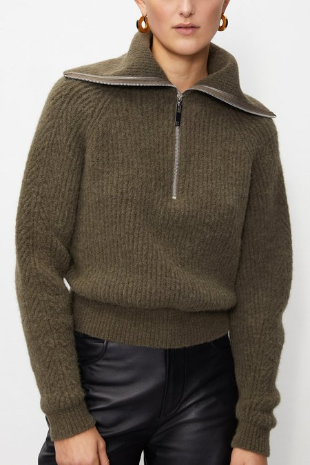 Rohe Carry Knit Sweater - Green Olive