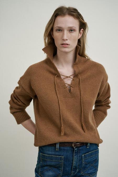 Nili Lotan Gloria Sweater - Brown