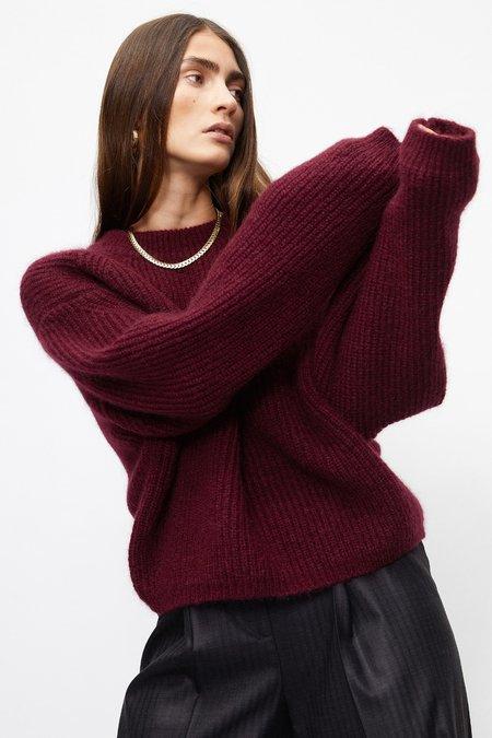 Rohe Kathleen Knit Sweater - Burgundy