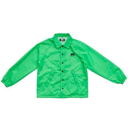 Used Future Oval Coach Jacket - ACID GREEN