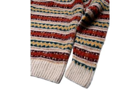 Howlin' A Day In The Wool Sweater - Biscuit