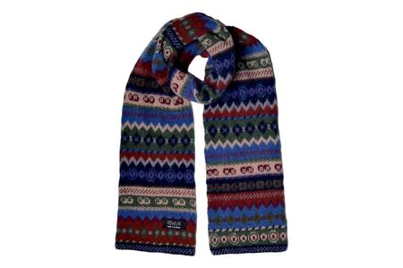 Howlin' Moskow Discow Scarf-  Blue Thunder
