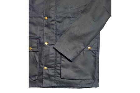 Milworks Waxed Field Jacket - Navy