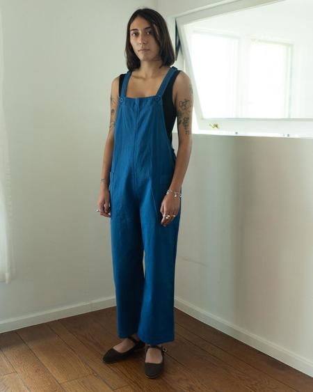 Ali Golden Overall Jumper - New Blue
