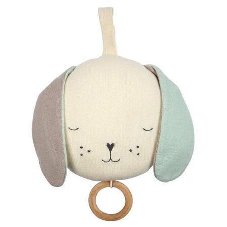Meri Meri Musical Dog Toy - Cream