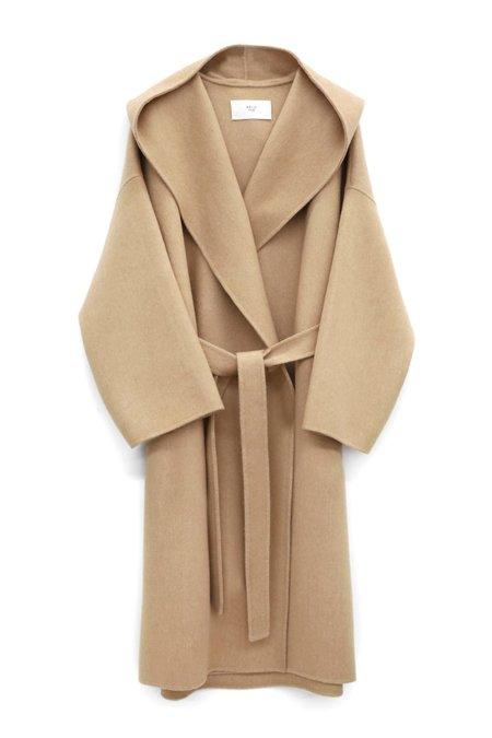 ARCH THE Long Hood Coat - Beige