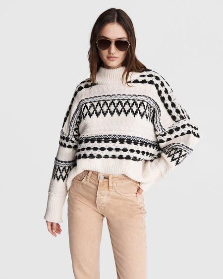 Rag & Bone WILLOW ALL OVER FAIRISLE sweater