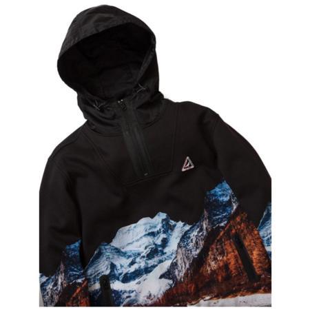 Expedition Half Zip Hoodie -Black