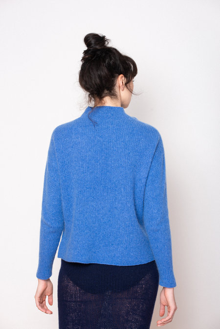 Ros Duke RIB TURTLE sweater  - Indigo