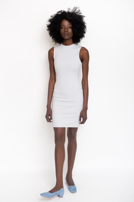 Hemsmith Tate Rib Dress / Sky Grey