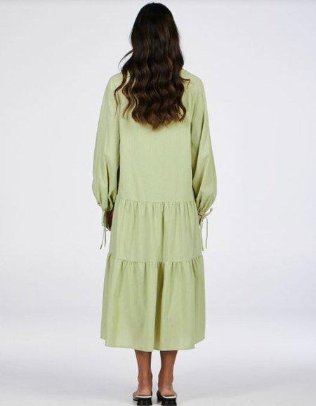 Charlie Holiday Mara Maxi Dress - Sage