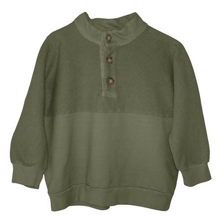 Kids Nico Nico Child Journey Fleece Sweatshirt - Avocado Green