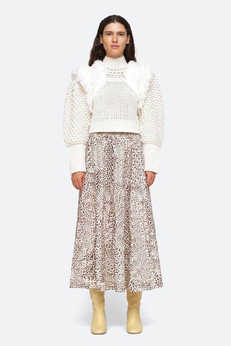 Sea NY Darcy Sweater - Cream