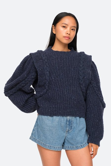 Sea NY Giada Sweater - Blue