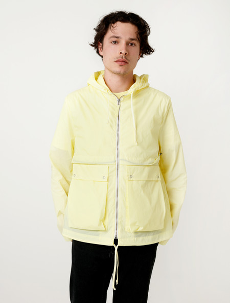 Tres Bien Homme Short Parka Two Layer Citrus