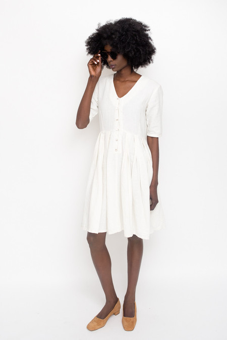 Atelier Delphine Katelle Dress / Cream Linen