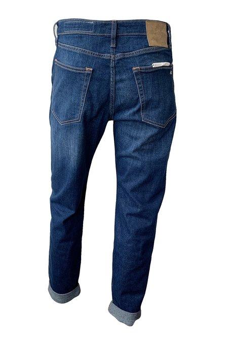 Rag & Bone Rosa Mid Rise Boyfriend Jeans - Blue