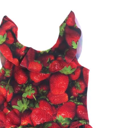 Kids Romey Loves Lulu Strawberries Swimsuit