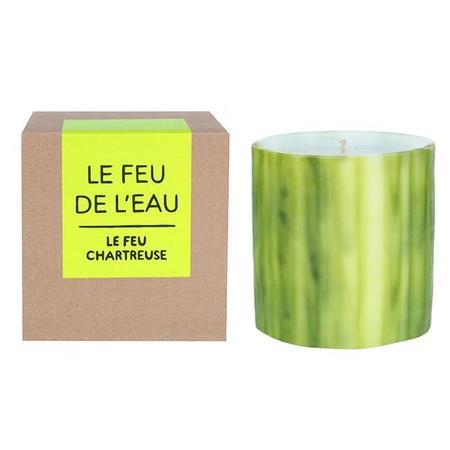 Le Feu De L'Eau Le Feu Chartreuse Cedar + Frankincense Candle