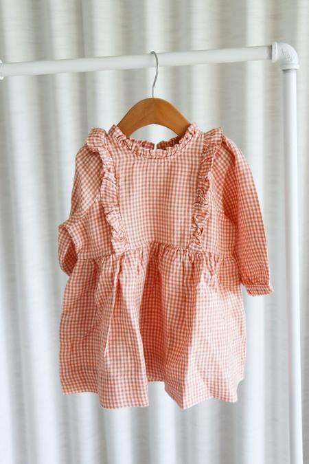kids Soor Ploom Percy Dress - Gingham