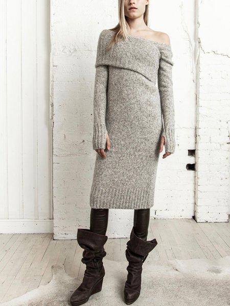 Nicholas K Cypress Sweater Dress - Stone Heather