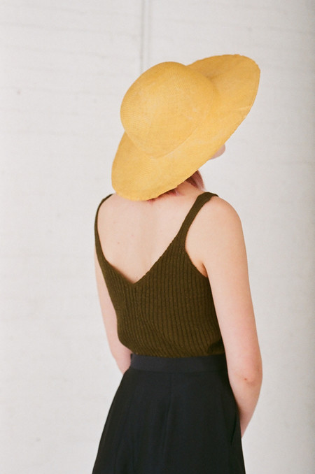 Reinhard Plank Donna Straw Hat in Yellow