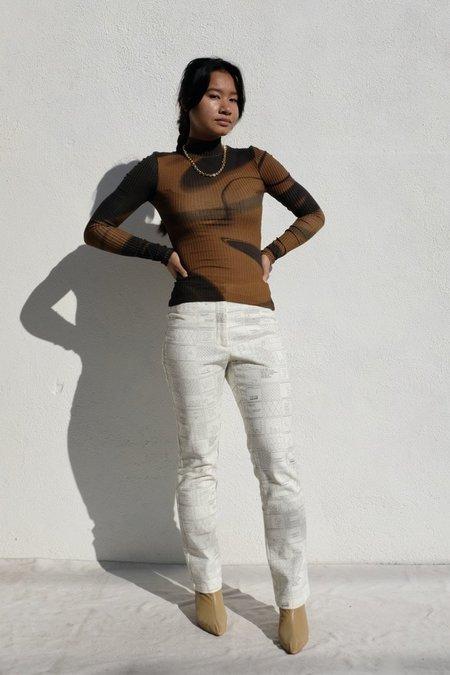 Paloma Wool Mila tee - Dark Brown