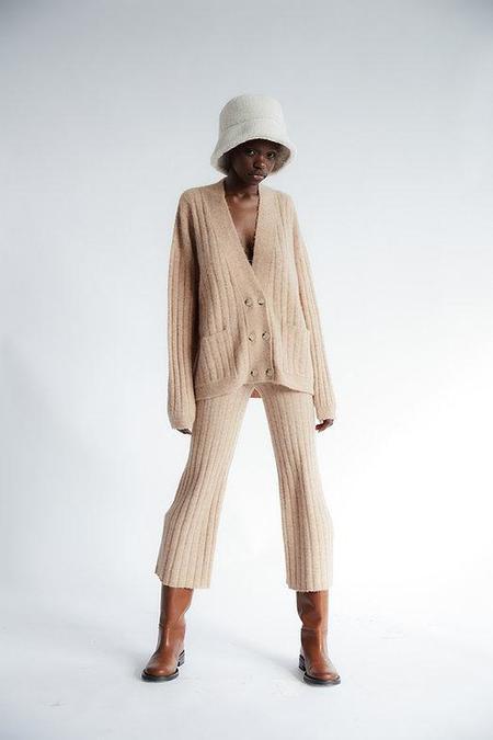 Tach Clothing Valka Knit Pant - Tan